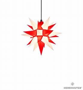Herrnhuter Stern Beleuchtung : herrnhuter stern a4 weiss rot kunststoff 40cm von ~ Michelbontemps.com Haus und Dekorationen