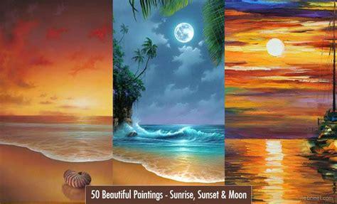 25 beautiful scenery paintings ideas on