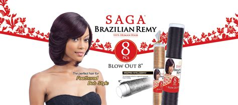 Saga Brazilian Remy 100% Human Hair-blow Out 8