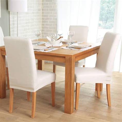housses de chaises extensibles housse de chaise extensible 3 suisses table de lit