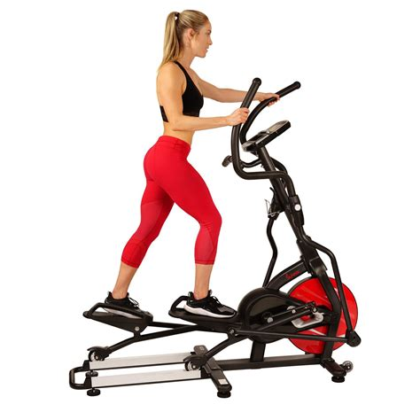 Sunny Health & Fitness Magnetic Elliptical Trainer ...