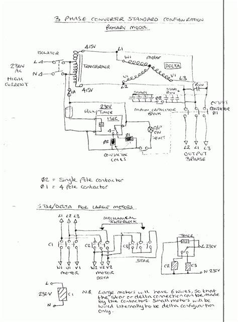 Static Phase Converter Wiring Diagram Free