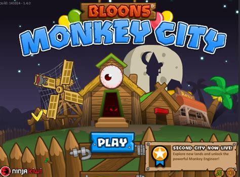 ninja kiwi bloons monkey city