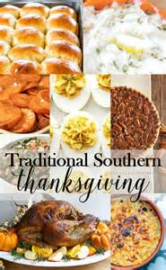 traditional southern thanksgiving menu just destiny