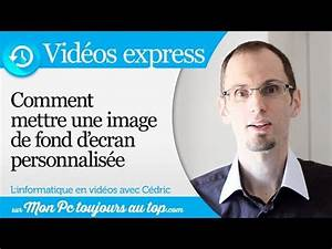 Comment Mettre Une Cheville Molly : comment mettre une image en fond d 39 cran ve 3 youtube ~ Dailycaller-alerts.com Idées de Décoration