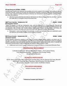 preschool teacher resume sample teacher and teacher With kindergarten teacher resume