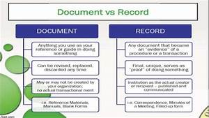 Documents or records by krom valeeryano for Documents 5 vs documents 6