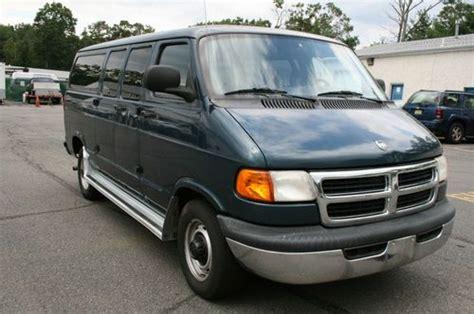 electric and cars manual 1998 dodge ram van 2500 regenerative braking sell used 1998 dodge 2500 12 passenger van in toms river new jersey united states