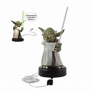 Lampe Star Wars : lampe usb yoda star wars cadeau geek sur ~ Orissabook.com Haus und Dekorationen