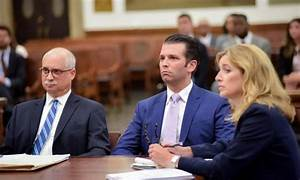 Donald Trump Jr., Estranged Wife Appear in NYC for Divorce ...