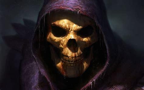 skeletor fantasy art skull grim reaper  man spooky