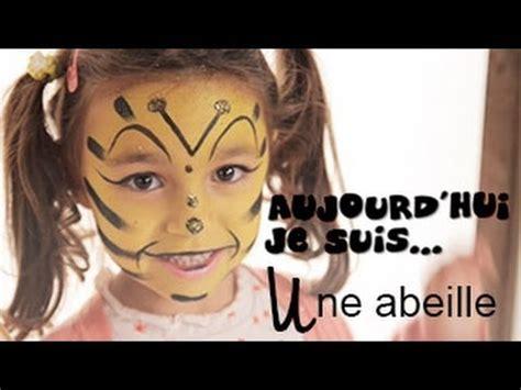 l abeille tutoriel maquillage enfant facile