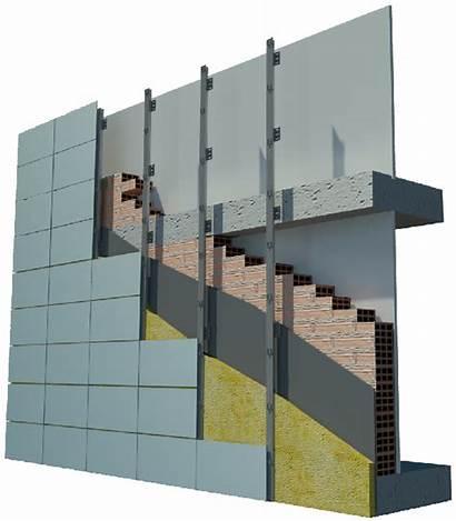 Facade Ventilated Wall Facades Systems Terracotta Panels