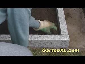 Beeteinfassung Granit Anleitung : beeteinfassung mit randsteinen aus granit leistensteinen granitsteinen youtube ~ Markanthonyermac.com Haus und Dekorationen