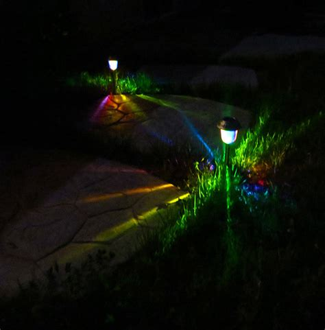 color to your garden solar garden lights moodlights led