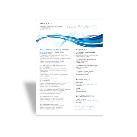 Word Modele by Exemple De Cv Original 224 T 233 L 233 Charger Au Format Word