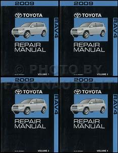 2009 Toyota Rav4 Repair Manual 4 Volume Set Rav Oem Shop