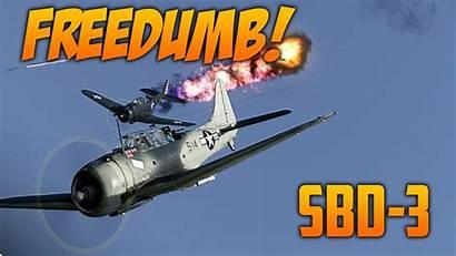 Thunder War Dauntless Sbd