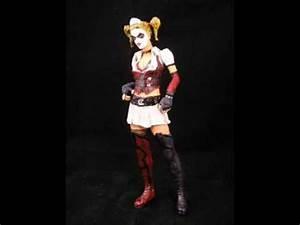 Batman Arkham Asylum Game Custom Harley Quinn Figure