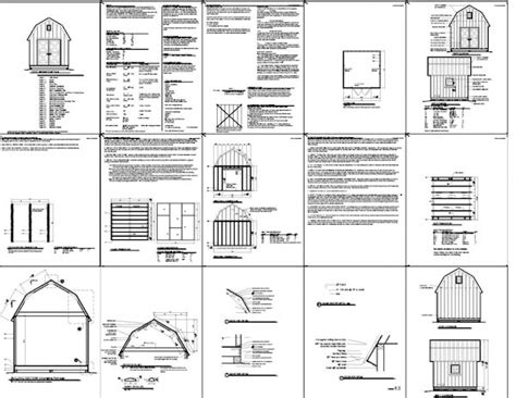 free gambrel shed plans 12x12 shed plans 12 x 12 wood shed plans 3 concepts to help