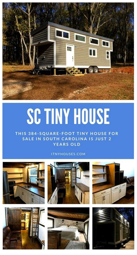 square foot tiny house  sale  south carolina    years  tiny house