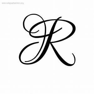 The Elegant as well as Stunning Letter R In Cursive – 2017 ...