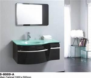 Waschbecken Mit Unterschrank Modern : ein modernes waschbecken unterschrank in schwarz 2 bottrop 10353499 ~ Markanthonyermac.com Haus und Dekorationen
