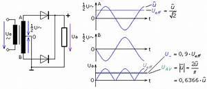 Gleichrichter Spannung Berechnen : grundschaltungen zur zweiweggleichrichtung mit dioden ~ Themetempest.com Abrechnung