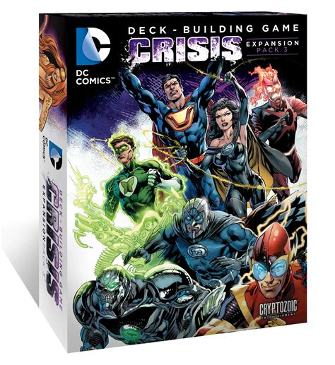 Dc Deck Building Expansion Release Date by Dc Comics Deck Building Crisis Expansion Pack 3