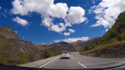 New Zealand Lake Tekapo To Queenstown Youtube