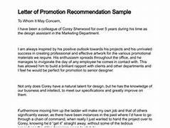 Letter Of Promotion 4 Sample Job Promotion Letter Science Resume Job Letter Format Letter Of Recommendation For Promotion Cover Letter Database