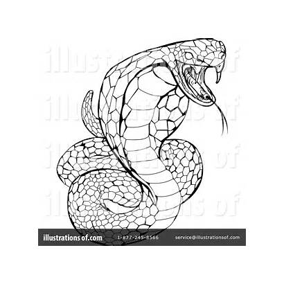 Snake Clipart Royalty Drawing Illustration Evil Atstockillustration