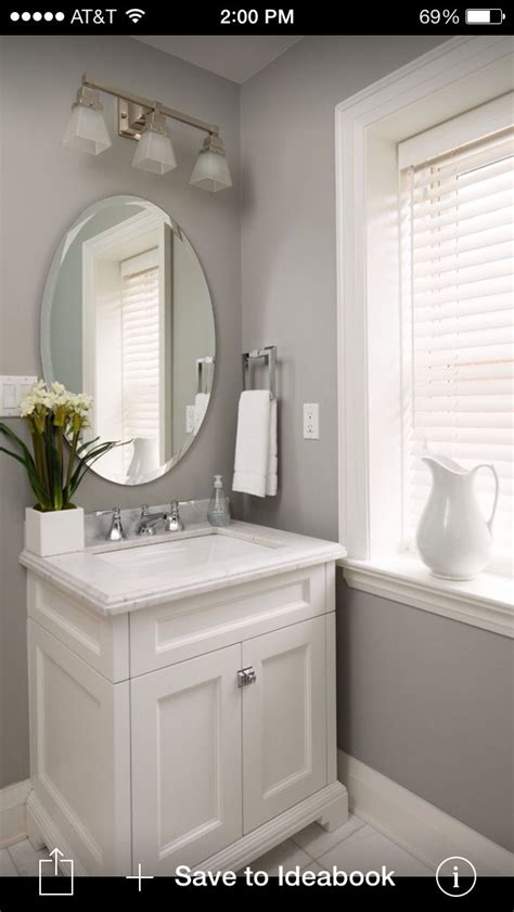 Colors For Bathrooms by Best 25 Oval Bathroom Mirror Ideas On Half