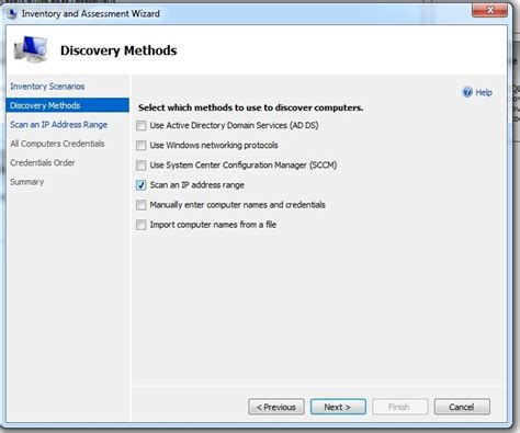 Microsoft Assessment Planning Toolkit Inventory