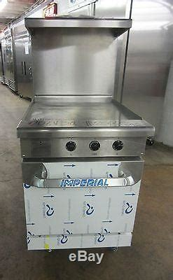 Imperial 24 Electric Restaurant Range With Flat Top