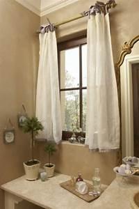 Rideau De Salle De Bain : petit rideau pour fenetre salle de bain salle de bain ~ Premium-room.com Idées de Décoration
