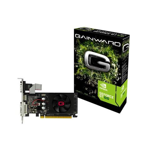 carte graphique pc bureau carte graphique nvidia geforce gt 610 2go