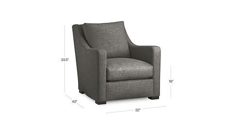 Crate And Barrel Verano Sofa Smoke by Verano Grey Accent Chair Crate And Barrel
