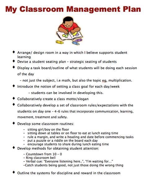 classroom management professional portfolio rebecca lillie