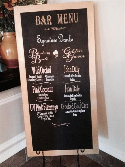creative chalkboard wedding ideas  clubhouse