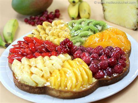 cuisine vapeur recette tarte aux fruits frais fiche recette avec photos meilleurduchef com