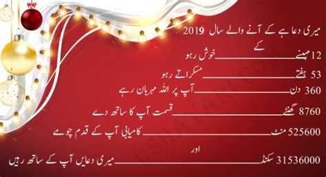 Happy New Year 2019 Sms In Urdu And Hindi