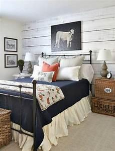 Cozy Farmhouse Master Bedroom Design Ideas 581 — Fres Hoom