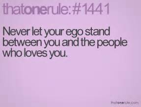 Ego Quotes About People