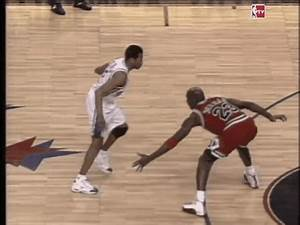 18 years ago today, Allen Iverson crossed up Michael ...