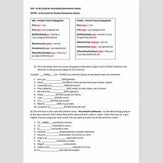 Ser Y Estar Exercises With Answers By Idiomas11  Teaching Resources