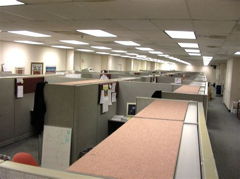 Office Space Knocking Cubicle by Who Invented The Cubicle