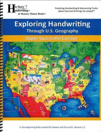 exploring handwriting   geography cursive