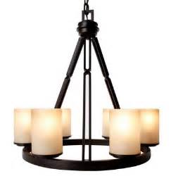 hton bay alta loma 6 light bronze dark ridge chandelier