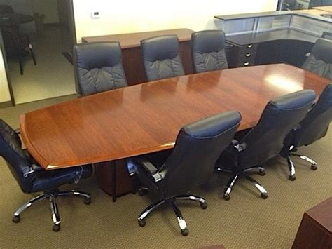 used conference room meeting tables office boardroom